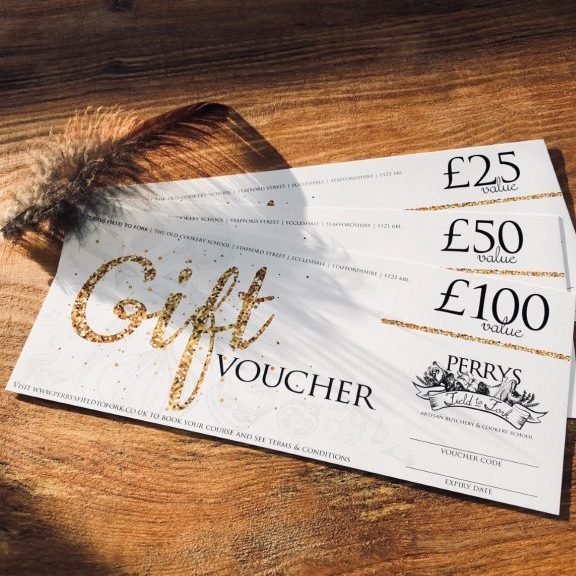 Perrys Field to Fork Gift Voucher